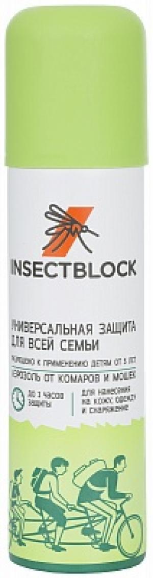 Аэрозоль от комаров и мошек Insectblock no brand