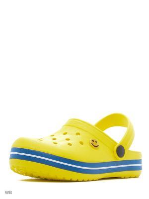 Сабо S`Cool. Цвет: желтый, синий