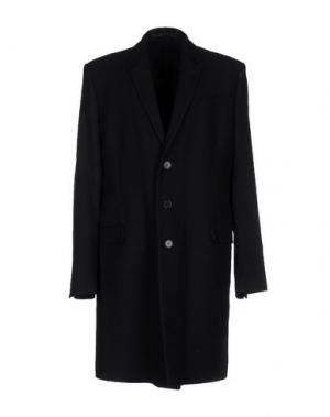 Пальто EXTE. Цвет: черный