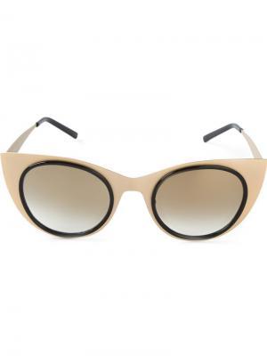 Солнцезащитные очки Angel Light Kyme. Цвет: металлический
