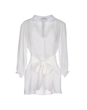 Блузка ANGELA MELE MILANO. Цвет: белый