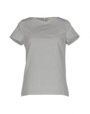 Блузка BRUNO MANETTI. Цвет: серый