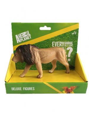 Фигурка Mojo (Animal Planet) в индивидуальной упаковке - Лев (L). Цвет: коричневый,темно-бежевый