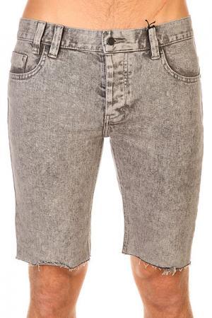 Шорты джинсовые  Jeans Grey Acid Insight. Цвет: серый