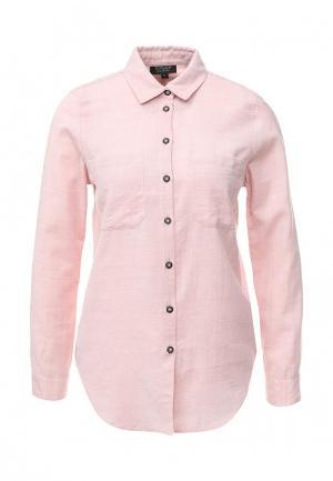 Рубашка Topshop. Цвет: розовый