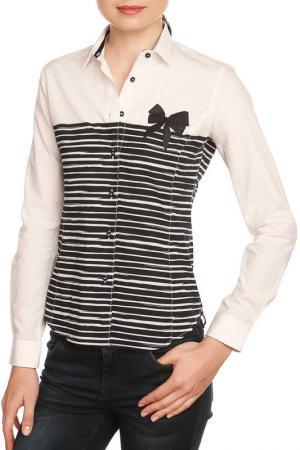 Shirt GAZOIL. Цвет: white, navy