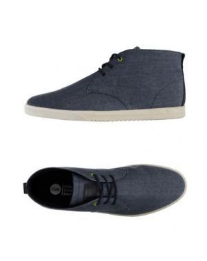 Высокие кеды и кроссовки CLAE. Цвет: серый