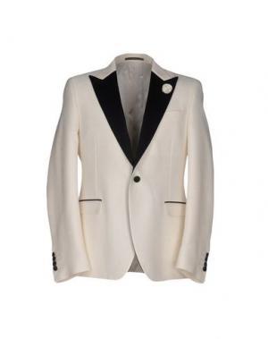 Пиджак PAOLONI. Цвет: белый