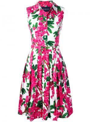 Платье Claire Samantha Sung. Цвет: белый
