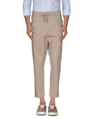 Повседневные брюки C.Y.H. CLAP YOUR HAND. Цвет: бежевый