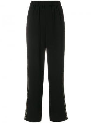 Классические брюки с полосками по бокам Steffen Schraut. Цвет: чёрный