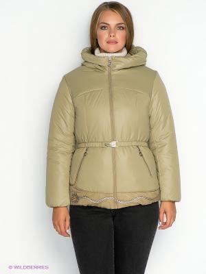Куртка X'cluSIve. Цвет: светло-зеленый
