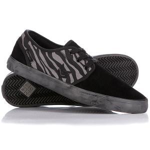 Кеды кроссовки низкие  Slacker Black Zebra VOX. Цвет: черный