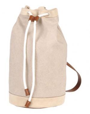 Рюкзаки и сумки на пояс ELEVENTY. Цвет: бежевый