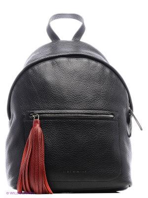 Рюкзак с кистью Avanzo Daziaro. Цвет: черный