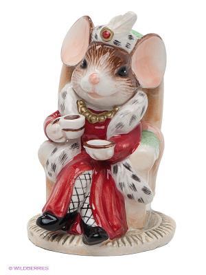 Фигурка Мышь Важная персона Pavone. Цвет: коричневый, красный