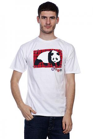 Футболка  Punky 2 White Enjoi. Цвет: белый
