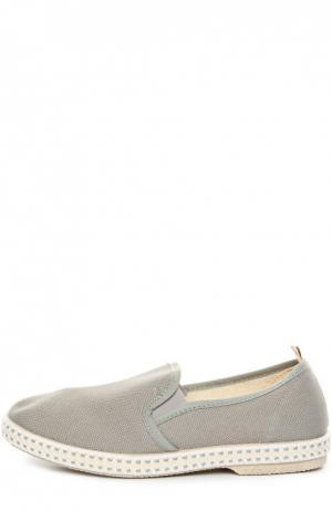 Эспадрильи Rivieras Leisure Shoes. Цвет: серый