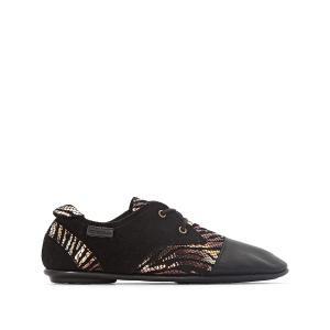 Ботинки-дерби кожаные Swing PATAUGAS. Цвет: черный