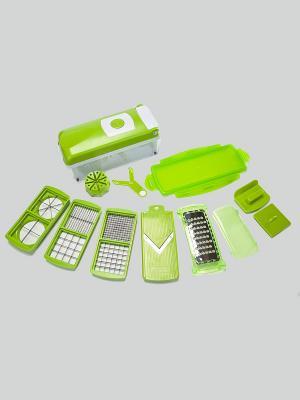 Овощерезка SALAD GOURMET BRADEX. Цвет: зеленый