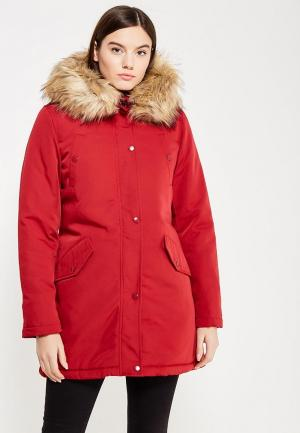 Куртка утепленная Laura Jo. Цвет: красный