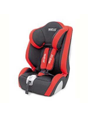 Детское кресло-бустер Sparco SPC/DK-350 BK/RD. Цвет: темно-красный