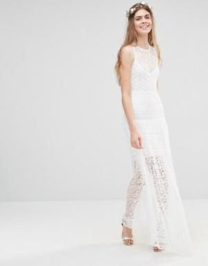 Body Frock Платье Brides Star Gazer. Цвет: белый