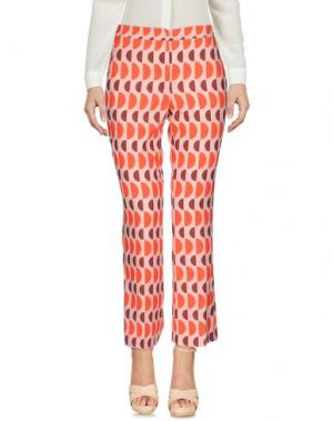 Повседневные брюки MAESTA. Цвет: оранжевый