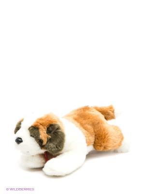 Мягкая игрушка Щенок сенбернара Мульти-пульти. Цвет: коричневый, белый