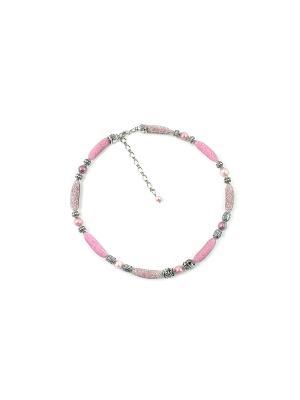 Ожерелье FOXTROT. Цвет: розовый