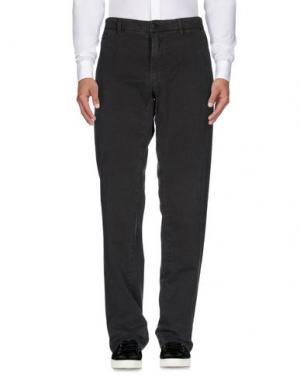 Повседневные брюки MASON'S. Цвет: свинцово-серый