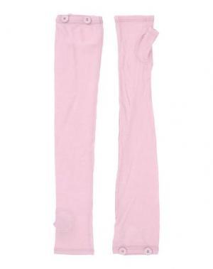 Гетры для рук MM6 MAISON MARGIELA. Цвет: розовый