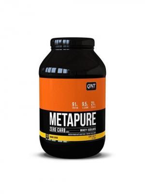 Протеин QNT  Metapure Zero Carb (банан) 1 кг. Цвет: черный, белый, оранжевый