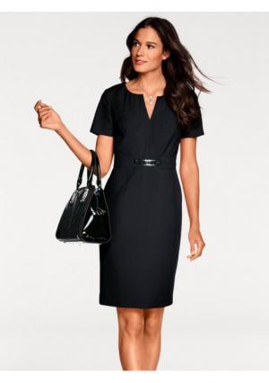 Платье-футляр PATRIZIA DINI. Цвет: красный, черный