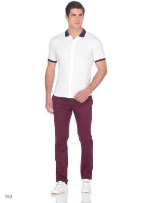 Рубашка JB casual. Цвет: белый