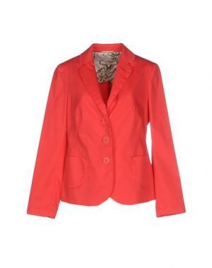 Пиджак XANDRES. Цвет: красный