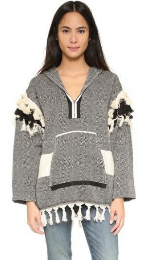 Пуловер Baja Beast KOZA. Цвет: черный бриллиант