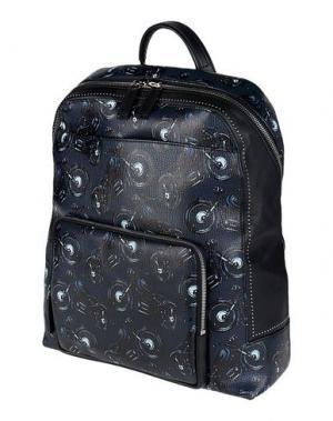 Рюкзаки и сумки на пояс SALVATORE FERRAGAMO. Цвет: темно-синий