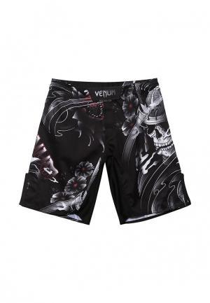 Шорты спортивные Venum. Цвет: черный