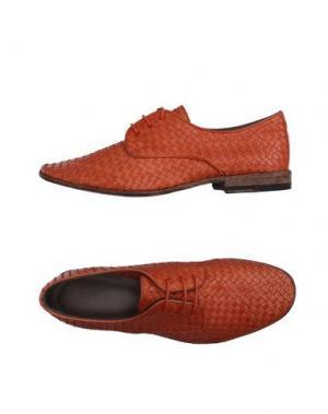 Обувь на шнурках SARTORI GOLD. Цвет: ржаво-коричневый