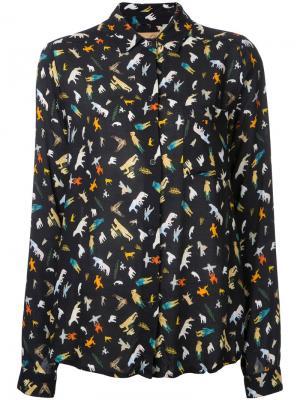 Рубашка Kamik Maison Olga. Цвет: чёрный