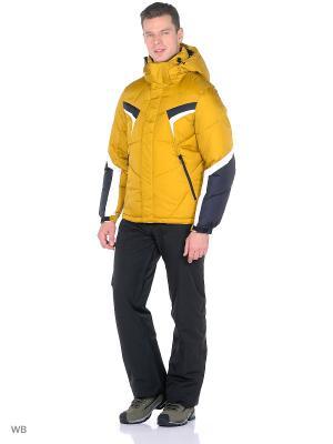 Куртка Think Pace. Цвет: горчичный