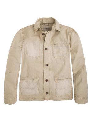 Куртка PEPE JEANS LONDON. Цвет: бежевый