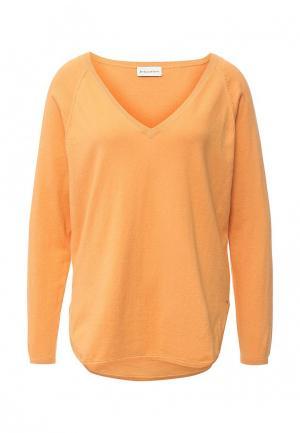 Пуловер Delicate Love. Цвет: оранжевый