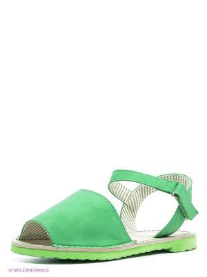 Сандалии XTI. Цвет: зеленый