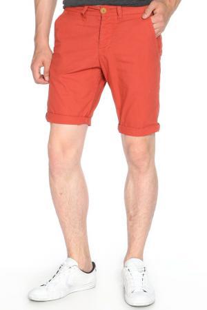 Шорты ALCOTT. Цвет: оранжевый