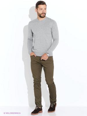 Пуловер Baon. Цвет: серый