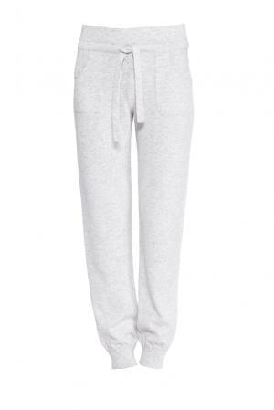 Кашемировые брюки 159997 Nobili. Цвет: серый