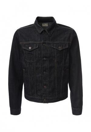 Куртка джинсовая Gap. Цвет: серый
