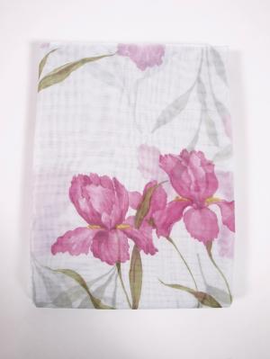 Штора Jenis Viola 200х270 см Ivett Classic. Цвет: розовый, белый
